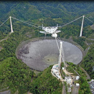 Arecibo Observatory -Arecibo, Puerto Rico