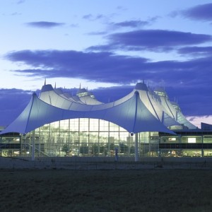 Denver International Airport - Jeppesen Terminal Roof 